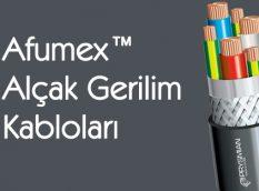 Afumex™ Alçak Gerilim Kabloları
