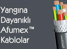 Yangına Dayanıklı Afumex™ Kablolar